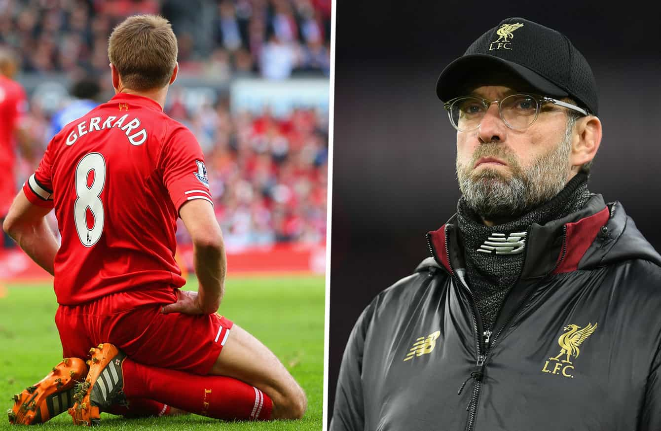 Klopp Brushed Aside Gerrard Costly Slip