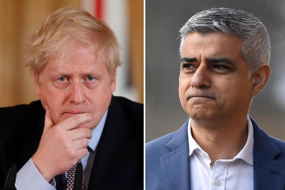 Sadiq Khan and Boris Johnson fight it out in a heated debate