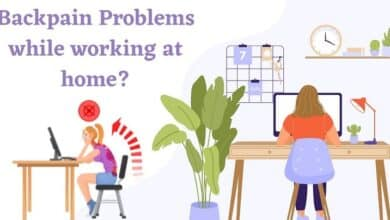 Photo of Backpain Issues While Working From Home? Here's How To Overcome it