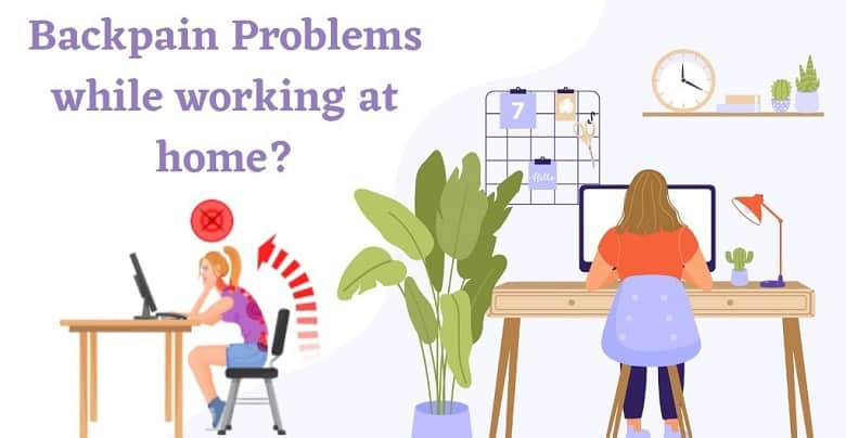 How to Reduce Back Pain Issues When Working From Home?