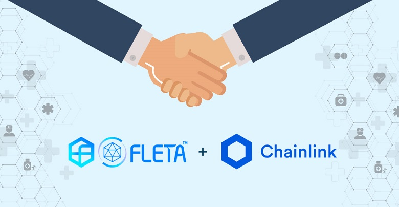 Fleta Joins Hands with Chainlink