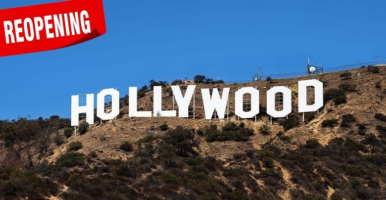 Hollywood geared-up to re-open post COVID-19 pandemic