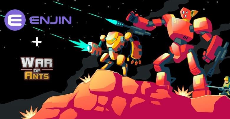War of Ants Joins Enjin Multiverse Ecosystem