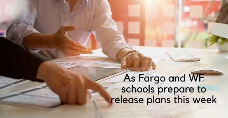 Schools reopen in Fargo and WF
