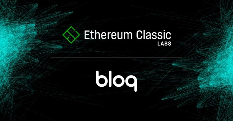 ETC Labs Partners with Bloq to Provide API Service for ETC