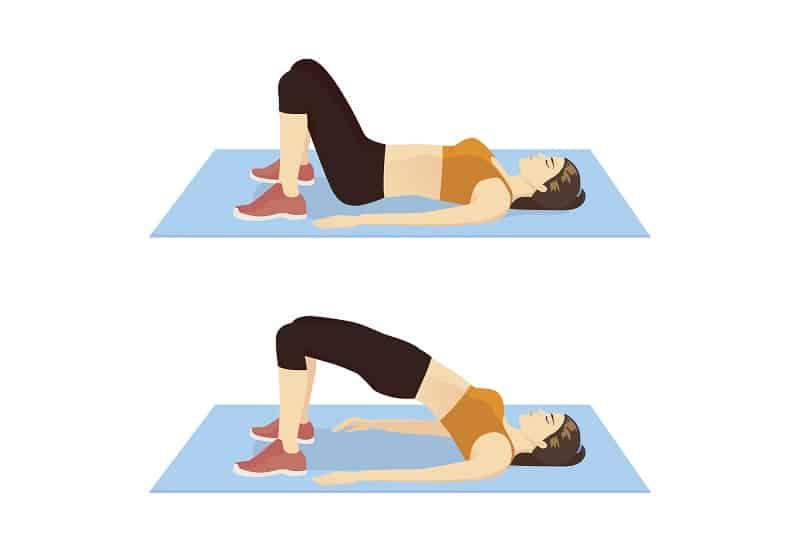 Bridge - Ab Exercises