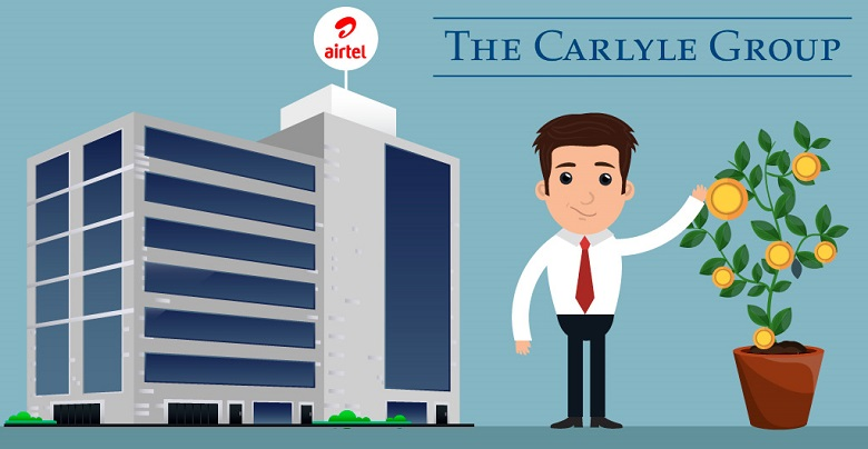 Carlyle to Pick Up 25% Stake in Airtel's Nxtra Data
