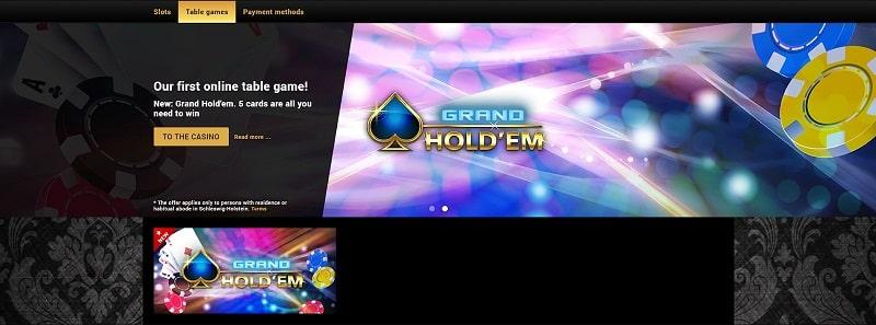 Casino Games Offer