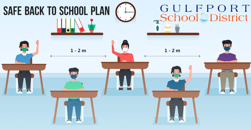 Gulfport Citizens Appeal District Schools for a Safe Reopening Plan