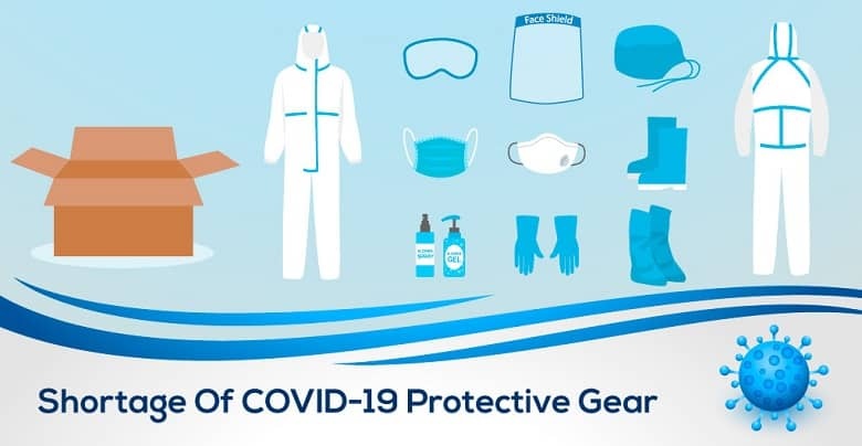 Shortage of Personal Protective Equipment; A Matter of Concern