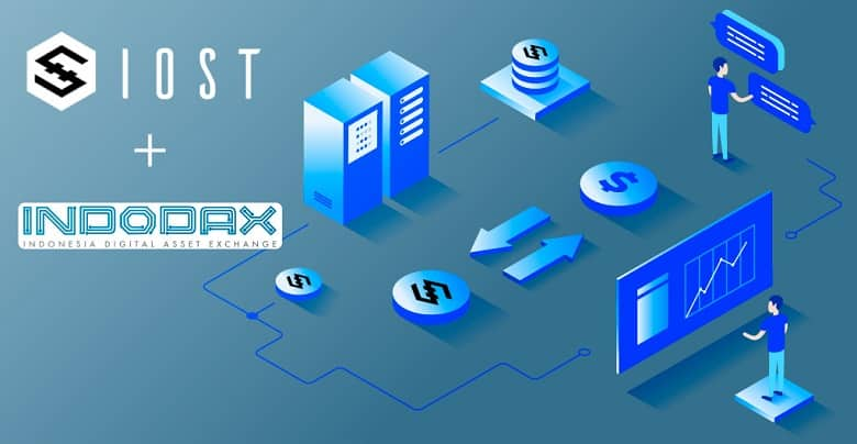 IOST Now Listed on Indonesia's INDODAX Exchange