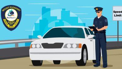 Photo of Mount Pleasant Police Issue 82 Speeding Tickets in 2 Days