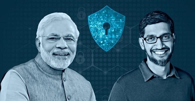 PM Modi and Sundar Pichai