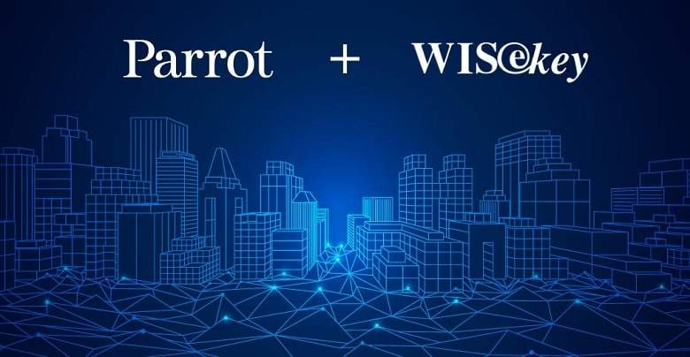 Parrot Collaborates with WISeKey