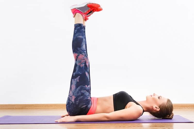 Raised Legs - Ab Exercises