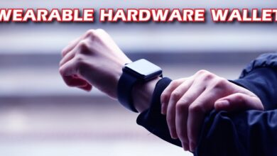 Photo of Marvin Janssen Introduces Wearable Hardware Crypto Wallet