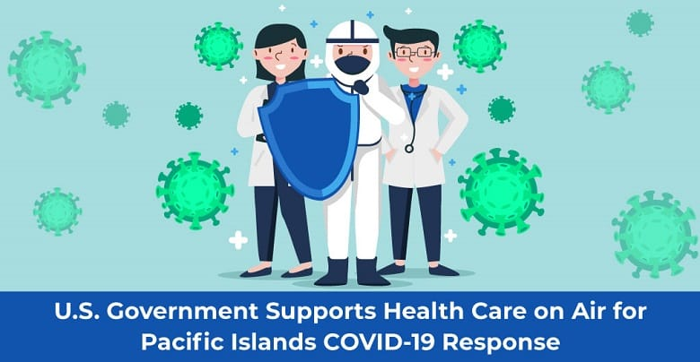 Health Care on Air for Pacific Island's COVID-19 Response