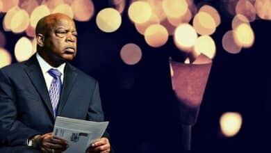 Photo of Vigil to Honor John Lewis, The Civil Rights Hero!