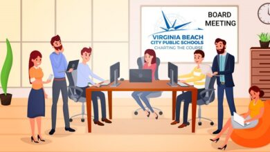 Photo of New Virtual Teaching Plan Proposed for Virginia Beach City Public Schools