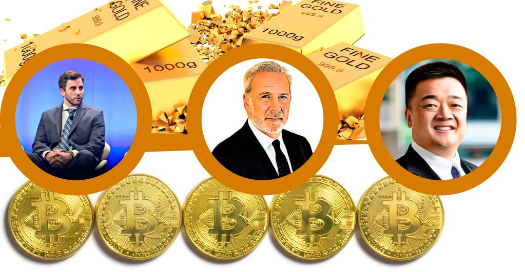 Bitcoin vs Gold: Pomp and Peter Schiff Debate Over It