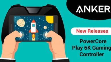 Photo of Anker Launches New PowerCore Play 6K Mobile Gaming Controller