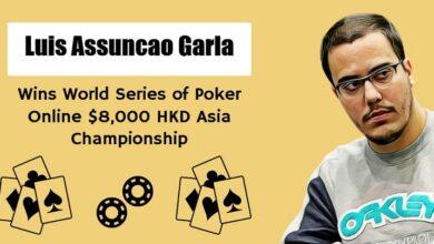 Photo of Brazilian Luis Assuncao Garla Won World Series of Poker 2020
