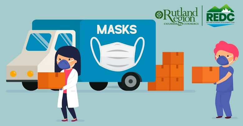 Free Masks Distributed to Local Businesses in Rutland