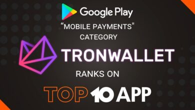 Photo of TronWallet Ranked Among the Top 10 Apps on Google Play